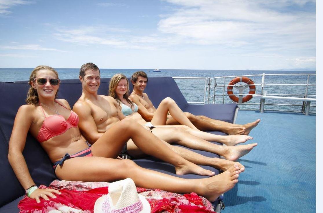 Reef Experience Sun lounge