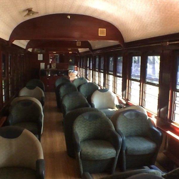 Cairns Scenic Railway gold class