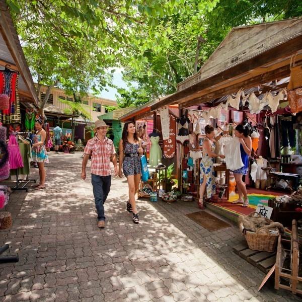 Kuranda Markets the village in the rainforest