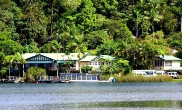 Lake Barrine, Atherton Tablelands, North Queensland, Australia